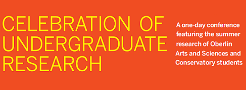 Celebration of Undergraduate Research