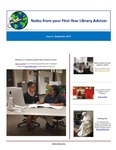 FYLA Newsletter, Issue 2, September 2017 by Oberlin College Libraries