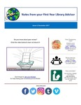FYLA Newsletter, Issue 4, November 2017 by Oberlin College Libraries