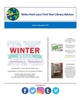 FYLA Newsletter, Issue 5, December 2017 by Oberlin College Libraries