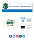 FYLA Newsletter, Issue 7, March 2018 by Oberlin College Libraries