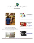 FYLA Newsletter, Issue 2, September 2016 by Oberlin College Libraries