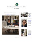 FYLA Newsletter, Issue 3, October 2016 by Oberlin College Libraries
