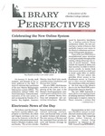 Library Perspectives, Issue 11, February 1995 by Friends of the Oberlin College Libraries